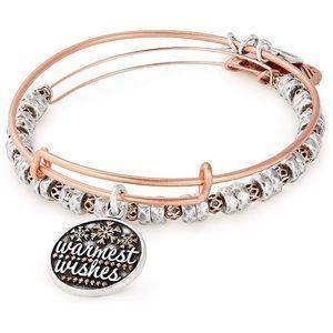 Alex and Ani Warmest Wishes Bangle Bracelet Set